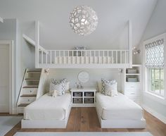 l shaped bed girls bedroom - Google Search
