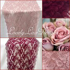 Burgundy/Dusty Rose / Lace Table long x Wide/Wedding Decor/ Overlay/Tabletop Decor/Centerpiece/FREE runner by LovelyLaceDesigns on Etsy Centerpiece Table, Centerpiece Decorations, Decoration Table, Dusty Rose Wedding, Burgundy Wedding, Wedding Lace, 1920s Wedding, Wedding Set, Wedding Flowers