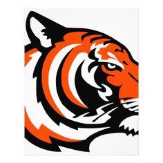 tiger letterhead -nature diy customize sprecial design