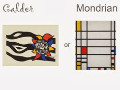 The Vivienne Files: Start with Art: Are you More Calder or Mondrian?