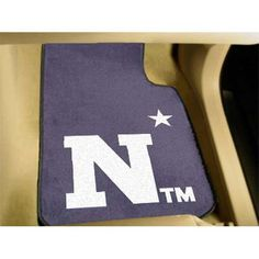 Navy Midshipmen NCAA Car Floor Mats (2 Front)
