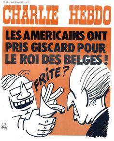Charlie Hebdo - # 288 - 20 Mai 1976 - Couverture : Gébé