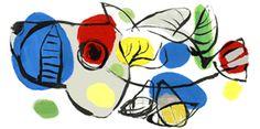 Karel Appel - 25 april 2011 Een logo op de homepage van Google.nl ter ere van Karel Appel, kunstschilder in de moderne kunst. Appel werd geboren op 25 april 1921 in de Dapperstraat te Amsterdam en overleed op 3 mei 2006 in Zwitserland.