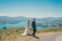 Mark & Anna // Akaroa Wedding Photographer — The Woods Photography