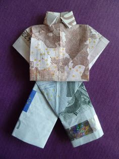 Marly Design: van geld broek vouwen/ fold money trousers
