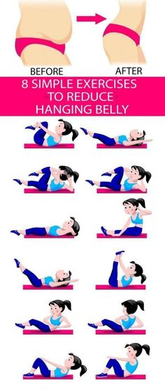 8 Simple & Best Exercises to Reduce Hanging Belly Fat Lower Belly fat does not l. - 8 Simple & Best Exercises to Reduce Hanging Belly Fat Lower Belly fat does not l. 8 Simple & Best Exercises to Reduce Hanging Belly Fat Lower Belly . Fitness Workouts, Easy Workouts, At Home Workouts, Squats Fitness, Zumba Fitness, Fitness Motivation, Lose Stomach Fat Fast, Lose Lower Belly Fat, Losing Belly Fat Fast