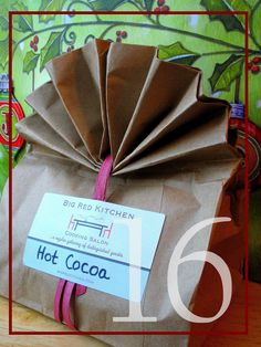 Advent Day 16: Wrapping Gift Mixes, Hot Cocoa and Cherry Simmer