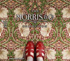 Spicher and Company :: Vintage Vinyl Floorcloths Rental Decorating, Decorating Tips, Floor Cloth, Acanthus, Arts And Crafts Movement, Vinyl Flooring, Fabric Decor, House Design, Artwork