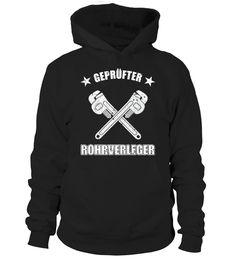 Rohrverleger - Das Kult-Shirt für für den geschickten Installateur  #gift #idea #shirt #image #funny #job #new #best #top #hot #legal