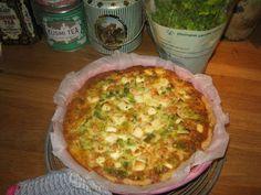 Tante Sød: Tærte med rejer og feta