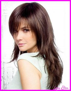 nice Cute haircuts for long hair with bangs and layers