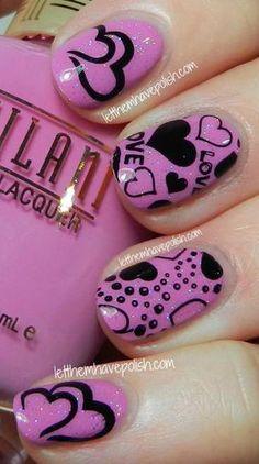 Nail Art / http://www.letthemhavepolish.com