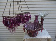 Purple Glam Accents ~ Wow! $102