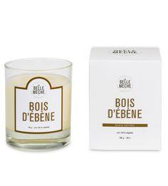 Bougie parfumée - Bois d'ébène - La Belle Mèche