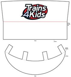 So cute train conductor hat template for montessori preschools find this pin and more on cannon bday make your own train conductor hat craft pronofoot35fo Gallery