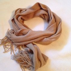 Tan Fleece scarf ⛄️ Fleece, fuzzy tan scarf. Accessories Scarves & Wraps
