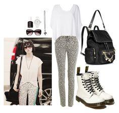 """""""2NE1 Airport Fashion Minzy Inspired Outfit"""" by smokingcrayonz ❤ liked on Polyvore featuring Zadig & Voltaire, Helmut Lang, Dr. Martens, Juicy Couture, Givenchy, Witchery, Essie and Ice-Watch"""