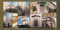 Rues de Rome avec le gabarit Point de fuite de Perle de Sable