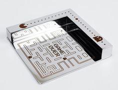 Chrome notebook holder as promotional gift, laser marked