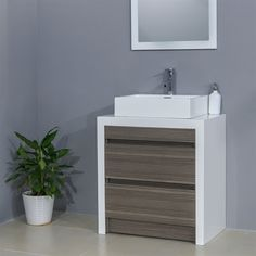 Shop Bestview 28-in x 18-in White/Walnut Drop-in Single Sink Bathroom Vanity with Cultured Marble Top at Lowe's Canada. Find our selection of bathroom vanities at the lowest price guaranteed with price match + 10% off.