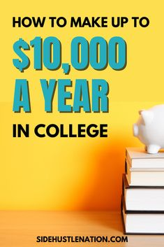 Just because you're in college doesn't mean you have to be broke. Here's how I made $25,000  during my college years, and still got good grades. Best Business Ideas, Business Goals, Business Advice, Business Entrepreneur, Online Business, Easy Money Online, Online Jobs, Make Money Blogging, Way To Make Money