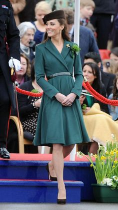 Kate on St. Patrick's Day