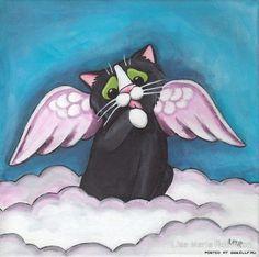 Милые кошки от Лизы Мари Робинсон