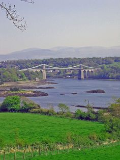 Menai Bridge - Angelssey, Wales