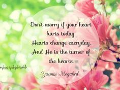 """Find and save images from the """"Yasmin Mogahed 👊"""" collection by Hibza (hibza) on We Heart It, your everyday app to get lost in what you love. Quran Quotes Inspirational, Islamic Love Quotes, Muslim Quotes, Religious Quotes, Motivational, Hindi Quotes, Qoutes, Bible Verses Quotes, Wisdom Quotes"""