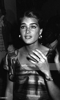Brooke Shields attends the premiere party for 'Endless Love' on July 16, 1981 at Hisai Restaurant in New York City.