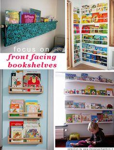 Am a fan of displaying beautiful books Bookshelves, Bookcase, Piece Of Me, Kidsroom, Playroom, Nursery, Organization, Decorating Ideas, Decor Ideas