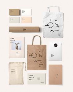 Life goes on – Oh Babushka design is very minimalistic but clean. The illustrative piece may look messy, but it fits well with the branding and purpose of the products for which it was developed. The layman … – Pin Coffee - corporate branding identity Logo Design, Brand Identity Design, Graphic Design Branding, Layout Design, Web Design, Brochure Design, Brand Design, Brand Identity Pack, Stationery Design