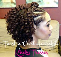 Twist'n'Curl Hairstyle - Black Hair Information Community
