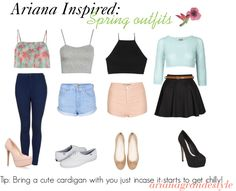 Ariana Grande Style- because spring is here, I thought you guys would love this!