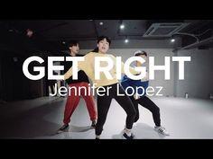 Get Right - Jennifer Lopez / Hyojin Choi Choreography - YouTube