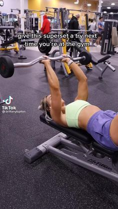 Fitness Workouts, Summer Body Workouts, Gym Workout Videos, Gym Workout For Beginners, Fitness Workout For Women, Triceps Workout, Yoga, Stay In Shape, Workout Challenge