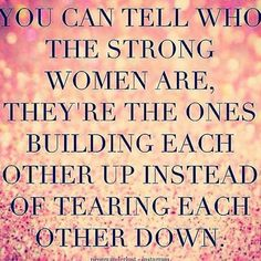 ....tearing each other down & anyone else who happen to be in their lives