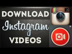▶ How To Download Instagram Videos - The Easy Way! - YouTube