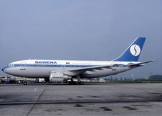 Sabena Belgian World Airlines Airbus Airbus A310, Korean Air, Boeing 707, National Airlines, Gaulle, Air India, Cargo Airlines, Aviation Industry, Civil Aviation