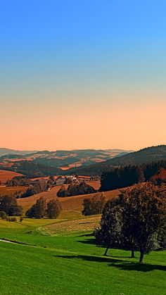 Peaceful countryside panorama. Berg bei Rohrbach, Österreich / Austria