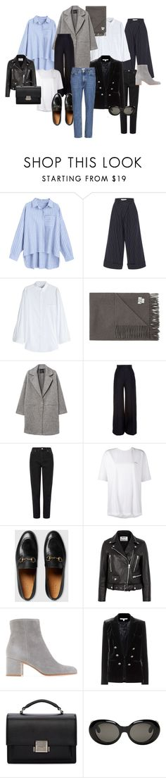 """hey"" by susanne-pedersen-1 on Polyvore featuring Monse, Balenciaga, Acne Studios, MANGO, Martin Grant, Miss Selfridge, Gucci, Veronica Beard and Yves Saint Laurent"