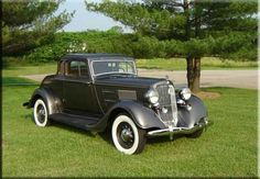 1934 Plymouth Coupe | 1934 Plymouth PE Coupe