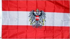 """Austria """"Crest"""" National Country Flag - 3 foot by 5 foot Polyester (NEW) by Country Flags """"A-B"""". $4.99. 2 Metal Grommets For Eash Mounting with Canvas Hem for long lasting strength. Express Domestic Shipping is OVERNITE 98% of the time, otherwise 2-day.. Express International Shipping is Global Express Mail (2-3 days). 3 Foot by 5 Foot, Indoor-Outdoor, Lightweight Polyester Flag with Sharp Vivd Colors. FAST SHIPPER: Ships in 1 Business Day; usually the Same Day ..."""
