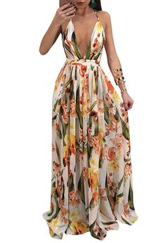 Tags  beautiful pretty ootd gown dress inspo tank top elegant casual cute  evening hoco v-neck summer sexy maxi long lights hot flower floral 5e6be0836d94