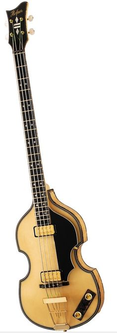 HOFNER 5000/1 Deluxe 4-String Electric Bass Guitar Natural | Musician's Friend