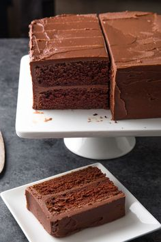 Just Desserts, Delicious Desserts, Yummy Food, Baking Recipes, Cake Recipes, Dessert Recipes, Chocolate Desserts, Chocolate Fudge Cake, Chocolate Strawberries