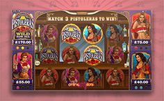 Play Pistoleras Video Slot with 40 Free Spins No Deposit