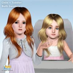 Emma's Simposium: Free Hair Pack #199 By PeggyZone - Donated/Gifted ...