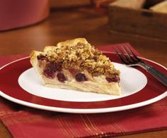 Apple Cranberry Streusel Custard Pie from Eagle Brand®