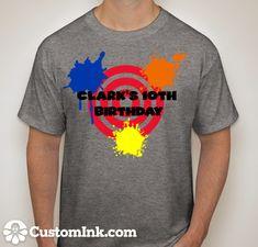 Paintball tshirts